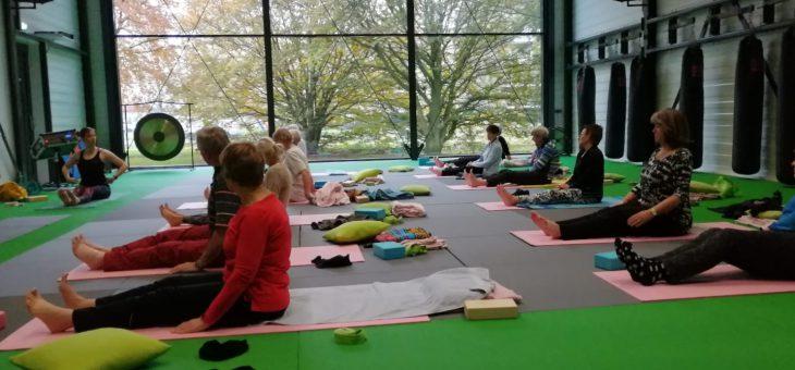 Ontspannende yoga-workshop